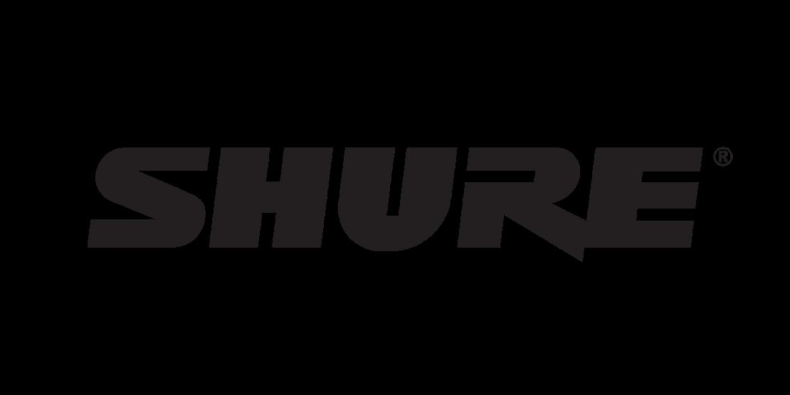 Shure Logo without Tagline_Black
